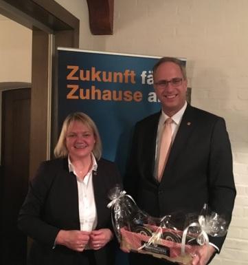 Katja Rathje-Hoffmann und Tobias Koch