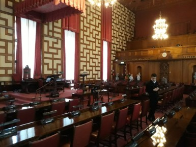 Plenarsaal im Stadshus · (c) Arne Krohn