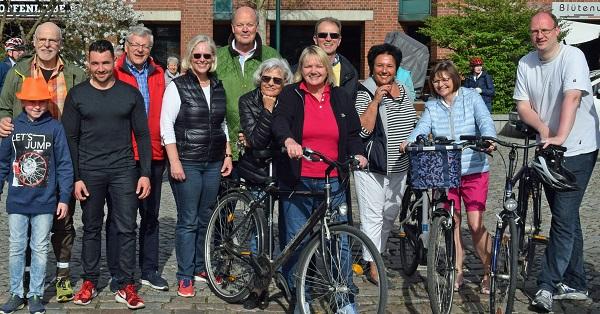 Fahrradtour mit Hans-Joachim Grote