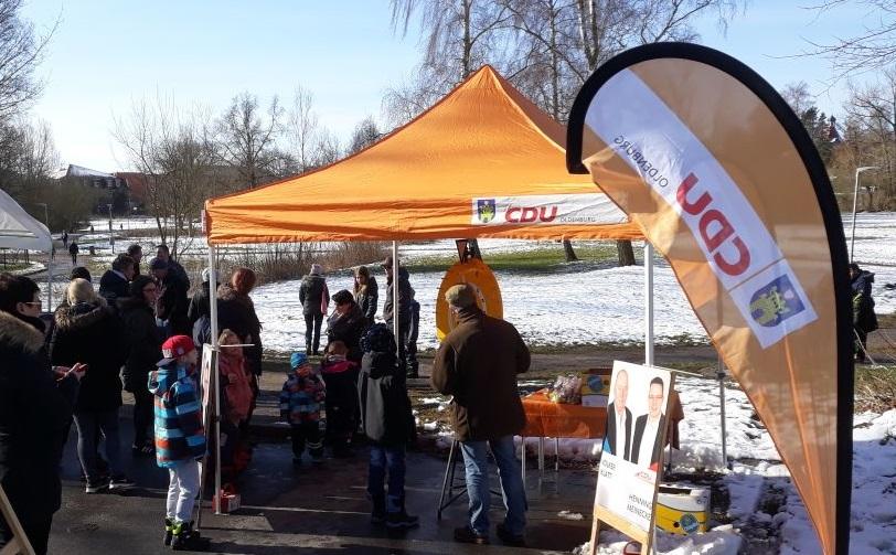 CDU-Ostereiersuchen in Oldenburg in Holstein