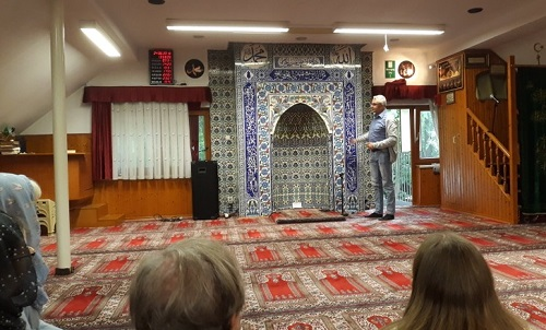 In der Eyüp Sultan Moschee