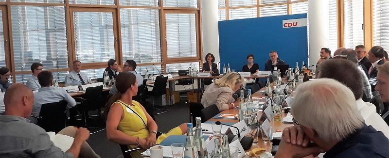 Verleihung des Fundraising-Preises 2018 an die CDU Schleswig-Holstein