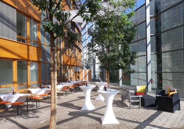 Wintergarten im Konrad-Adenauer-Haus