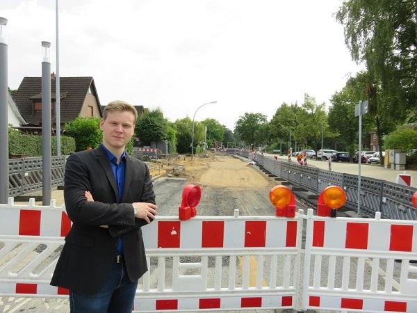 Patrick Pender und die CDU-Fraktion fordern die Abschaffung der Straßenausbaubeiträge
